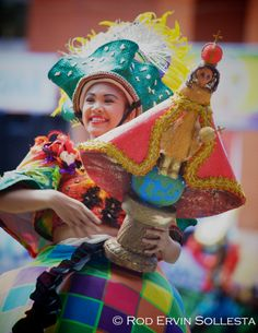 Dinagyang: Join this dazzling, dizzying celebration of color and movement that welcomes all with warm hearts and dancing feet.