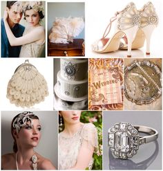 Roaring 20's wedding theme