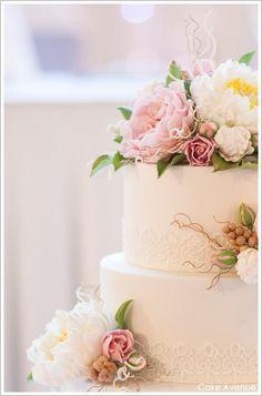 sweet very romantic cake