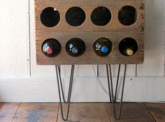 wines, crate wine, wine racks, craft, hairpin leg, winerack, legs, diy, crates