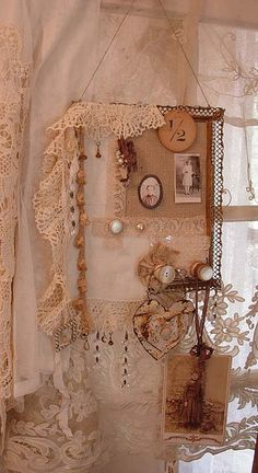 Lace inspiration board