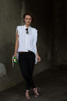 #clean style, love it!  street fashion #2dayslook #new style #fashionforwomen  www.2dayslook.com