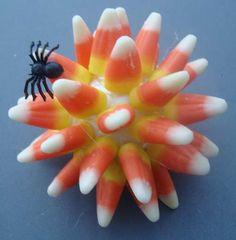 Make a Decorative Candy Corn Ball