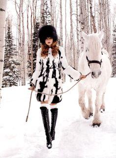 *Horse love