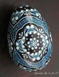 folk art, china blue, pysanki egg, circl, batik egg, easter eggs, decor egg, blues, egg art