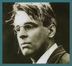 """William Butler Yeats 1865 - 1939.""""The things a man has heard and seen are threads of life, and if he pull them carefully from the confused distaff of memory, any who will can weave them into whatever garments of belief please them best. I too have woven my garment like another, but I shall try to keep warm in it, and shall be well content if it do not unbecome me."""""""