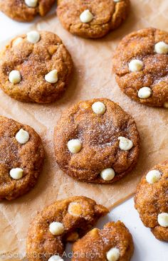 These White Chocolate Pumpkin Snickerdoodles are a MUST try! So soft & chewy without being cakey using a few kitchen tested tricks. Recipe b...