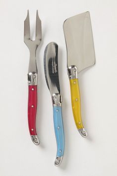 Laguiole Cheese Knife Set - Anthropologie.com
