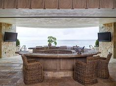 Roses and Rust: A Beautiful Beach House!