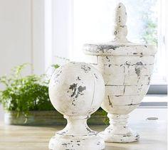 Pottery Barn white finish