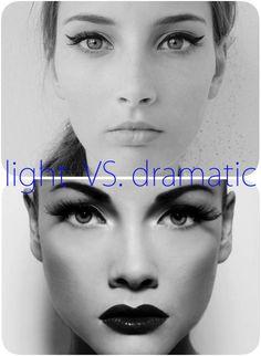 light vs dramatic