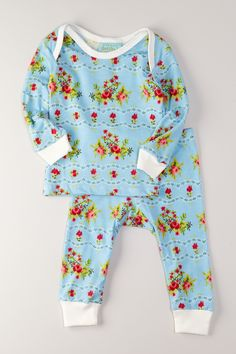 BedHead  Printed Pajama Set:: cutest wee jams ever!
