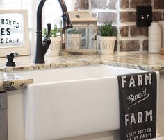 "See this Instagram photo by Home Decor Momma ??? 93 likes <a class=""pintag"" href=""/explore/farmhouse/"" title=""#farmhouse explore Pinterest"">#farmhouse</a> sink???"