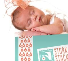 StorkStack sends a box of 5 baby products each month for $28. Cool stuff!