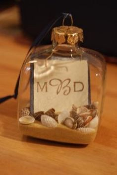 Mrs. Corn's DIY Rewind: Coastal Ornament Favors :  wedding diy favor Dsc 000 dsc-000