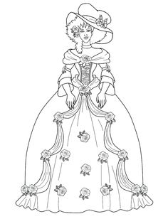 Image detail for -Fashion coloring pages image by cosmicfalcon on Photobucket
