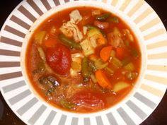 crock pot, minestron soup, crockpot, soup recipes