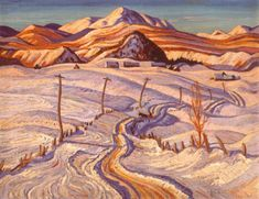 A.Y. Jackson - Winter Charlevoix County (The Group of Seven)