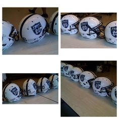 Check out the new fully decaled helmets for Mater Dei Prep High School Football in New Jersey.  Look great, play great!  #footballhelmetdecals #footballdecals #helmetdecals #helmetswag #uniswag #healyawards