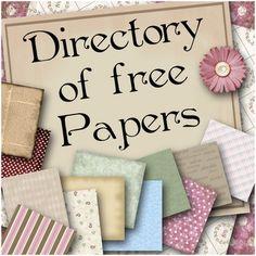 Free scrapbook paper?!?!