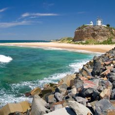 Nobbys Point, Newcastle, Australia - visited with Sue and Si in 1999 on our road trip to the Hunter Valley and where they filmed some scenes in Bootmen