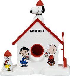 Snoopy snow cone machine.