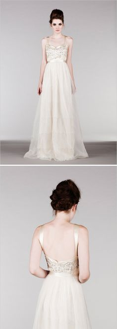 2015 Saja Wedding Collection #weddingchicks See it here: http://www.weddingchicks.com/saja/