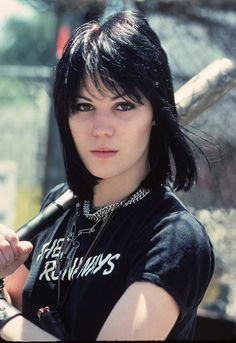 I admire Joan Jett because she colored outside the lines. Her dream was to have a girl rock band. Everybody said she could not do it!  Her persistance and relizing her potential ,she persued her dream. She is a pioneer in rock music!