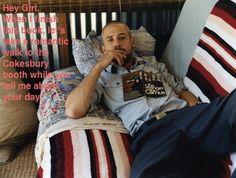 Methodist Ryan Gosling is a man of letters. #methodistryangosling #gc2012