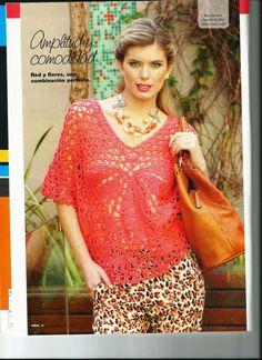 Tejido Practico Crochet Calados № 3 2013 - Le blog de Basil - Basil
