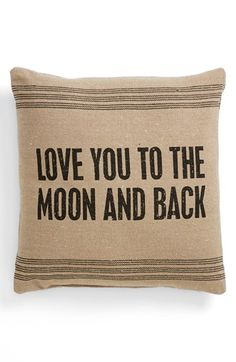 'To the Moon' Pillow