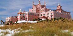 My favorite vacation spot - The Don CeSar Beach Resort, St. Pete Beach, Florida