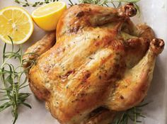 Perfect Lemon-Herb Roated Chicken