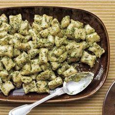 Potato #Gnocchi with Pesto