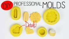 Toni Ellison: How To Make Professional Molds: Polymer Clay, Air Dry Clay, Resin, & Fondant