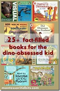 25+ fact-filled books for the dino-obsessed kid