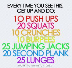 good five minute workout!