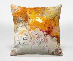 accent pillows, orang decor, decorative pillows, decor pillow, art pillow