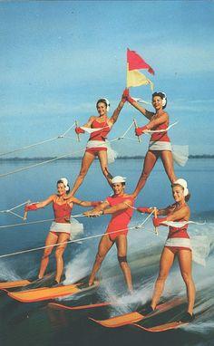 Water Skiing Pyramid!