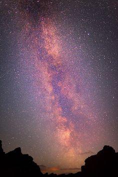 Milkyway & the Aurora Borealis - Iceland.