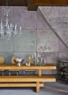 Attic loft in Budapest #design #interior #loft #male #urban #contemporary #minimalistic #decor #stylish #missdesign