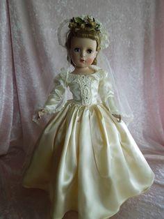 "BEAUTIFUL 17"" Madame Alexander Victorian Bride"