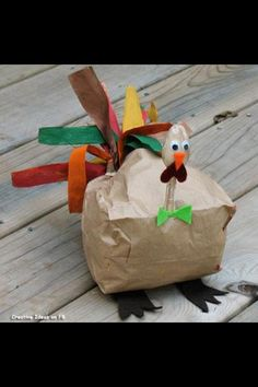 Thanksgiving arts and crafts!