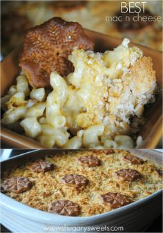 Delicious, creamy, cheesy, classic macaroni and cheese