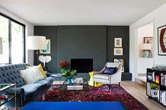 BRIARCREST REMODEL - contemporary - Living Room - Austin - Stuart Sampley Architect