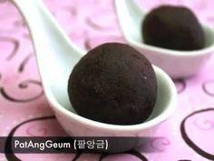 Korean Food: Homemade Red Bean Paste (팥 앙금)