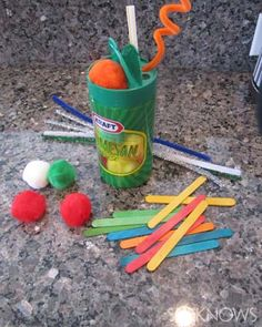 Make-at-home toys to develop fine motor skills - Pinned by @PediaStaff – Please Visit  ht.ly/63sNt for all our pediatric therapy pins