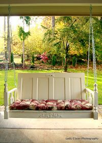 One of a Kind Porch Swing