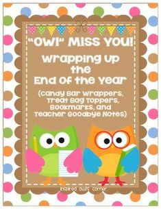 FREEBIE End of the Year Classroom Printables!