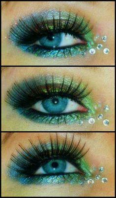 Beautiful mermaid eyes